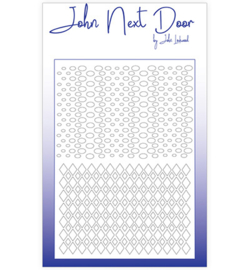 John Next Door - Mask Stencil & Sjablonen - Duo Mask Argyle