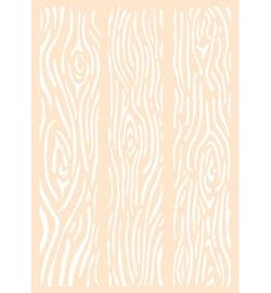 Joy!Crafts -  Poly Besa Stencil 6005/0002 -  Houten Planken