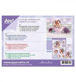 Joy! Crafts Luxe Stansset Kerst vier je Samen 6012/0505