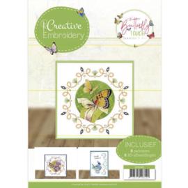 Borduurboek 26 - Jeanine's Art - Butterfly Touch