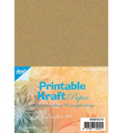 Kraft Paper Printable - A5 - 8089/0219