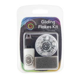 Cosmic Shimmer - Gilding Flakes Kit - Silver moon