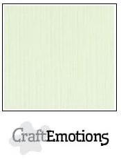 CraftEmotions Linnenkarton 27 x 13,5 cm Lichtgroen 001235/1050