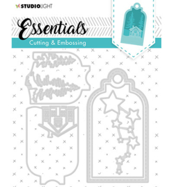 SL Cutting & Embossing Die Label Essential, nr.320