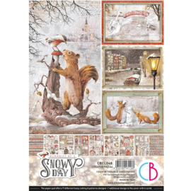 Ciao Bella -Memories of a Snowy Day -Creative Pad - A4 CBCL048