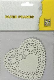 Paper Frames Hart 12 stuks 10 cm