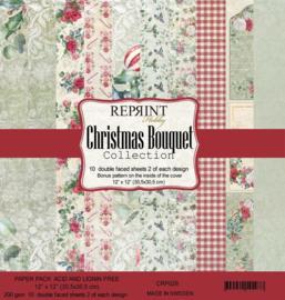 Reprint - Christmas Bouquet Collection - 30,5 x 30,5 cm.