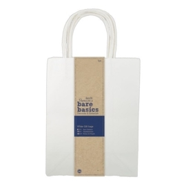 White Gift Bags Groot