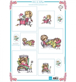 Marianne Design Don & Daisy 3214