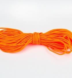 Wax Katoen Koord Rond Oranje  8313