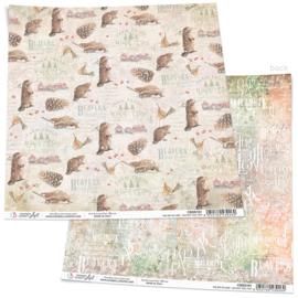 Ciao Bella-The Gift of Love -Beavers Tree Farm Paper-30.5 x30.5 cm  CBSS161