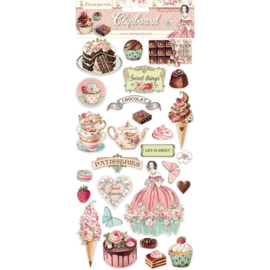 Stamperia - Sweety - Chipboard