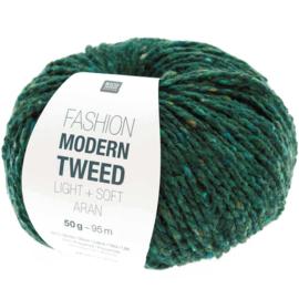 Rico Fashion Modern Tweed Light + Soft Aran - 383273.014 - Groen