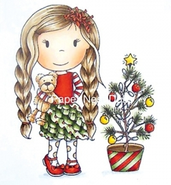 Paper Nest Dolls Christmas Tree Ellie 70049