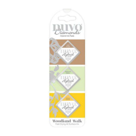 Nuvo - Diamonds Hybrid Ink Pads - Woodland Walk  - 85N