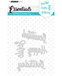 Studio Light - Embossing Die Cut Stencil Essentials nr.163
