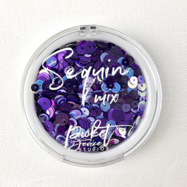 Picket Fence Studios - Purple People Mix Sequin Mix - SQ-110