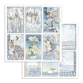 Stamperia - Winter Tales - Paper - 30,5 x 30,5 cm  Cards