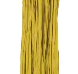 Natuur Raffia 25 gram Geel kleur nr 55