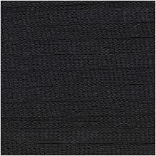 Rico Fashion Cotton Ribbon Chunky - 383254.008  -  Zwart