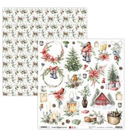 Studio Light- Scrap Christmas Collection nr.66