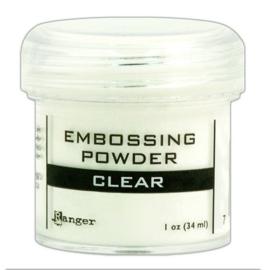 Ranger - Embossing Powder - Clear - 34 ml.