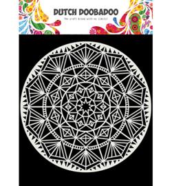 Dutch Doobadoo Mask Art 15 x 15 cm - Mandala - 470.715.621