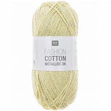 Rico Fashion Cotton Métallisé 013 Citrin