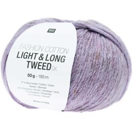 Rico Fashion Cotton Light & Long Tweed  - 383281.014  -  Purple