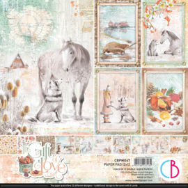Ciao Bella - The Gift of Love -PaperPad- 30.5 x 30.5 cm -CBPM047