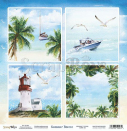 ScrapBoys Summer Breeze paper sheet DZ SUBR-05