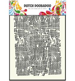 Dutch Doobadoo Mask Art -  Burlap  -  A5 -  470.715.006