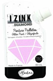 IZINK Diamond glitterverf/pasta - 80 ml, pastelpink - 80830