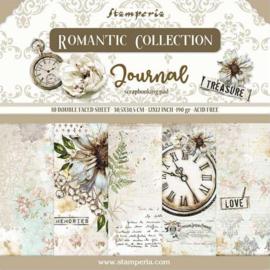 Stamperia- Romantic Journal - Paper Pack- 30.5 x 30.5 cm