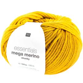 Rico Essentials -  Mega Merino /  Wool Chunky  383235.006 -  Mustard