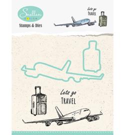 Nellie Snellen - Stamps & Dies -  Vliegtuig