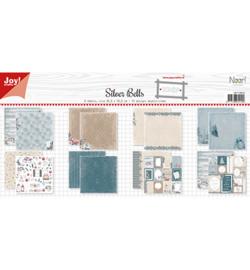Joy!Crafts Papier Set - Design - Noor - Silver Bells  - 6011/0654
