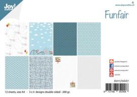 Joy!Crafts  - Papierset - Design Funfair 6011/0667