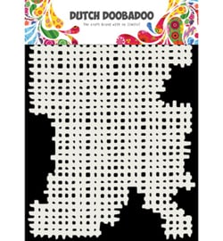 Dutch Doobadoo Mask Art -  Linnen  -  A5 -  470.715.142