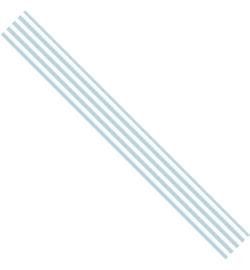 Ribbon Stripes Blauw