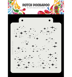 Dutch Doobadoo Mask Art -  Starry Night  -  470.715.148