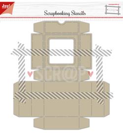 Joy!- Noor - Scrap box met klapdeksel -6005/0003