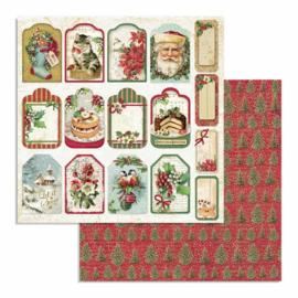 Stamperia - Classic Christmas - Paper - 30,5 x 30,5 cm