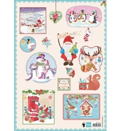 Marianne Design Jingle Bells EWK1215