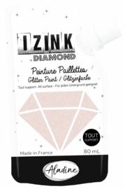 IZINK Diamond glitterverf/pasta - 80 ml, lichtgoud - 80834
