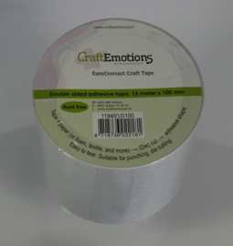 Craft Emotions Easy Connect Rol 15m x 100mm 119491/0100
