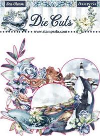 Stamperia -  Romantic Sea Dream - Die Cuts