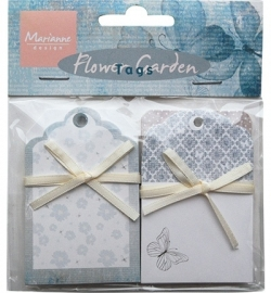 Marianne Design Flower Garden Tags JU0928