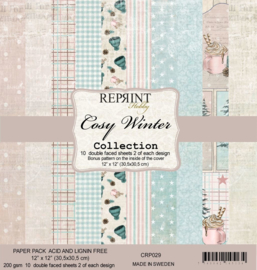 Reprint - Cozy Winter Collection - 30,5 x 30,5 cm.