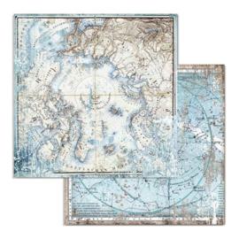 Stamperia - Arctic Antarctic - Paper - 30,5 x 30,5 cm. - Arctic